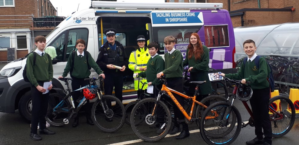 Safer Neighbourhood Team visit